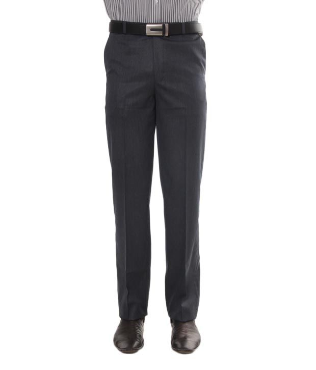 Viggo Dark Grey Trouser