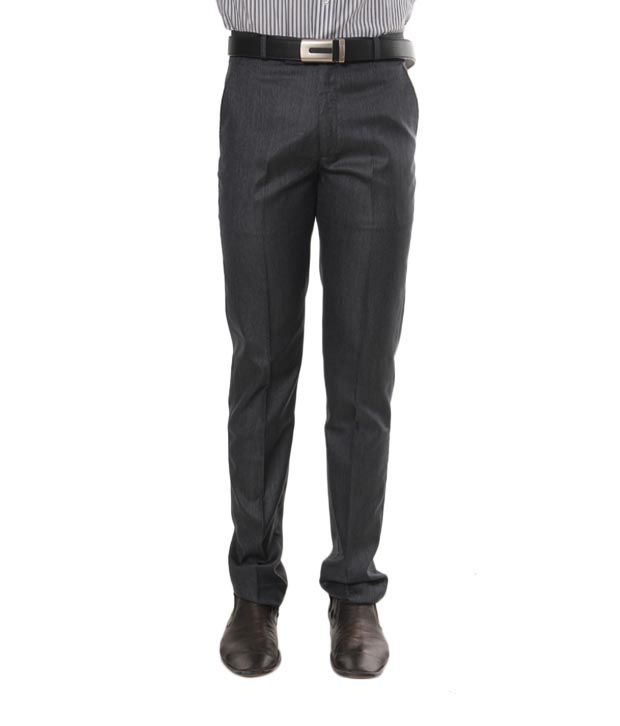Viggo Dark Grey Trouser