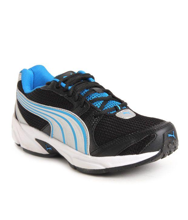 Noir Flash Puma Et Chaussures De Course Bleu r1zhyyuf
