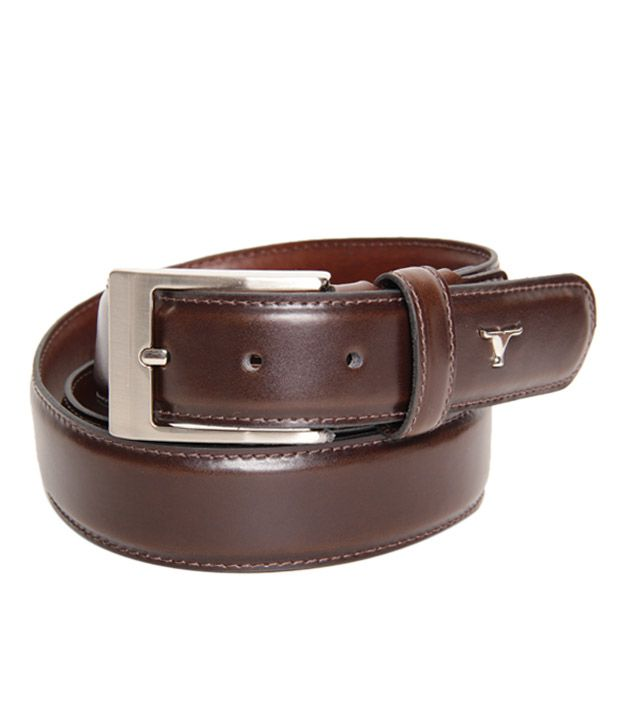 Bulchee Attractive Brown Smooth Belt