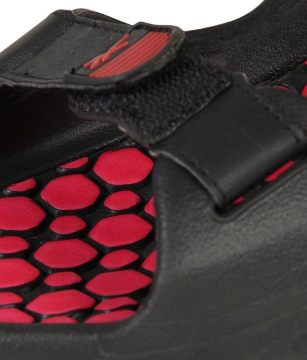 45373b3595a0 Reebok Enthused Black   Red Floaters - Buy Reebok Enthused Black ...