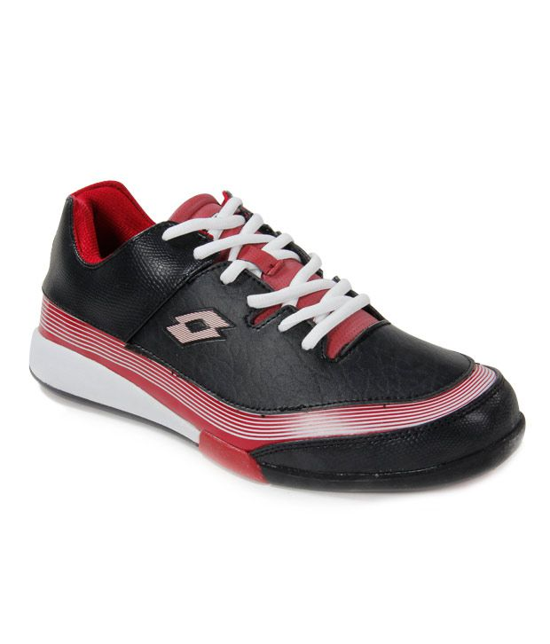Lotto Black Sports Shoes Online