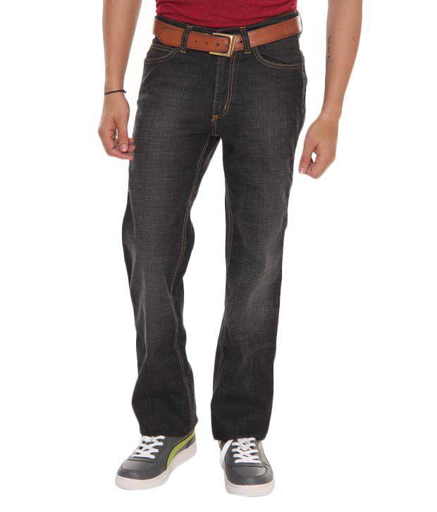 Lee Cooper Originals Black Regular Fit Jeans