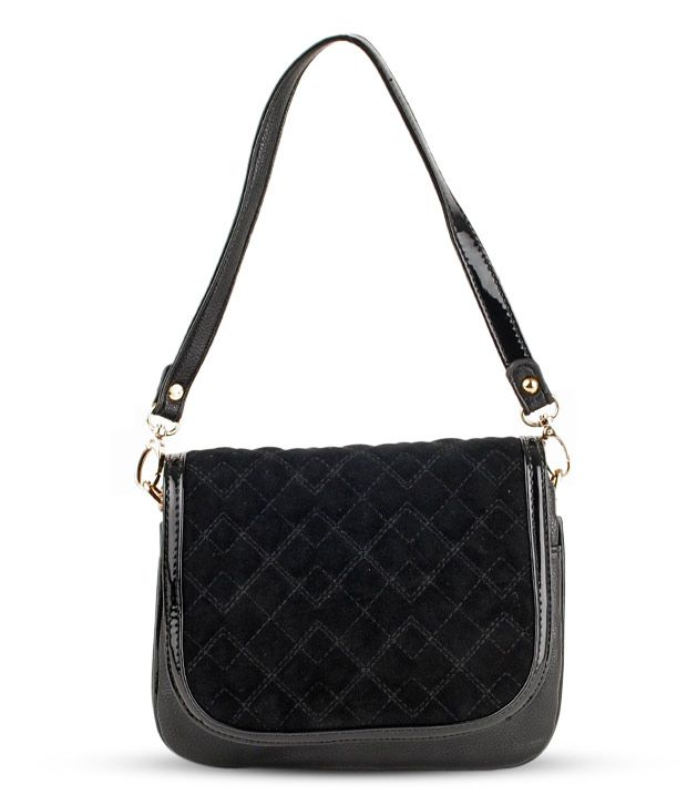 Done By None Haute Black Sling Bag