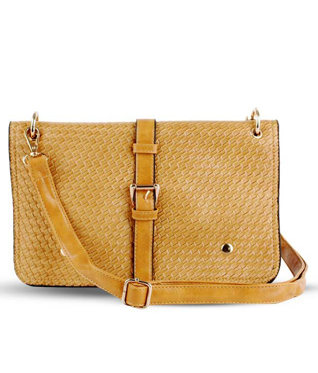 Done By None Fab Beige Sling Bag