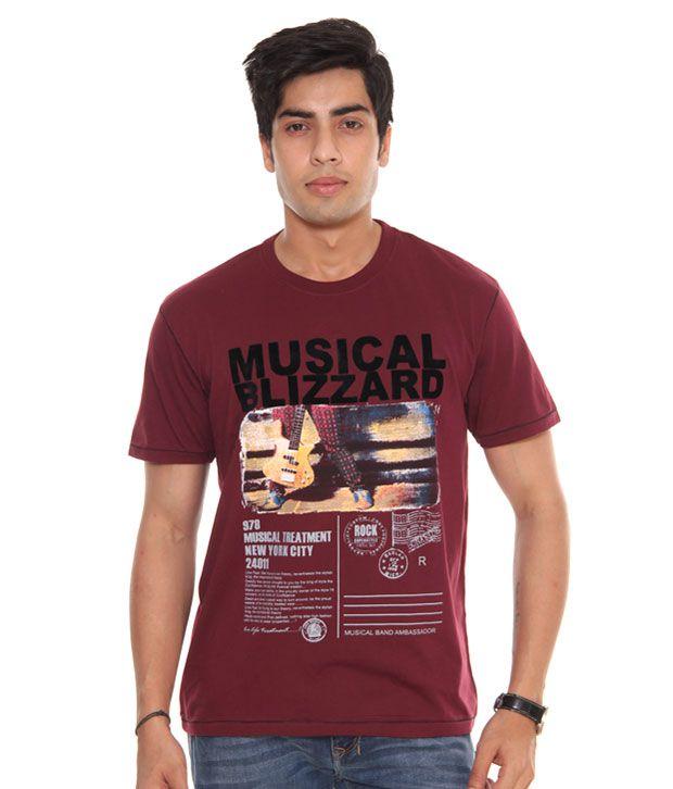 Raves Blizzard Wine T-Shirt