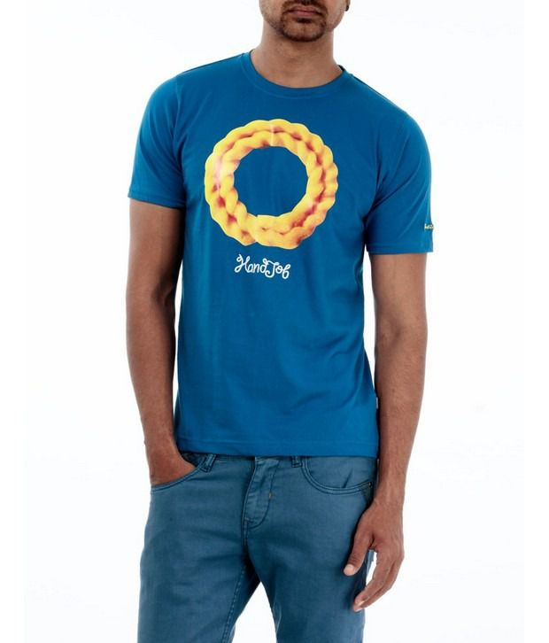 Basics 029 Blue T-Shirts