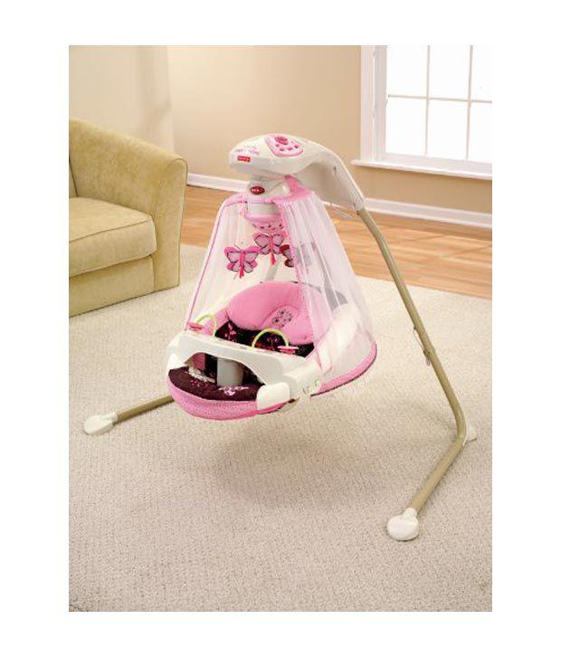 fisher price papasan cradle swing mocha butterfly imported toys buy fisher price papasan. Black Bedroom Furniture Sets. Home Design Ideas