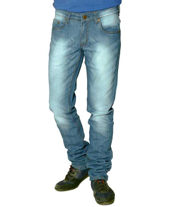 CMYK Ice-Blue Jeans
