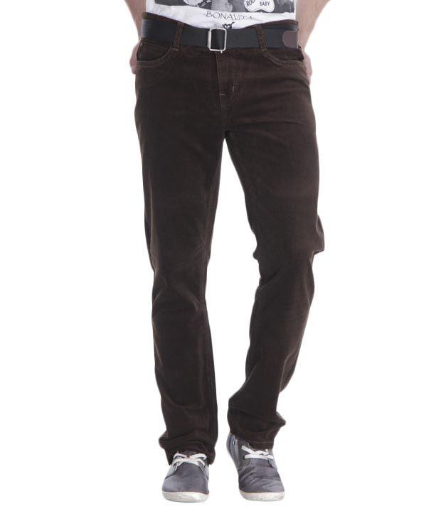 Fever Olive Corduroy Jeans