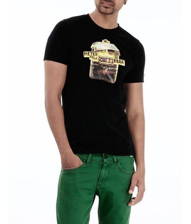 Basics 029 Black T-Shirts