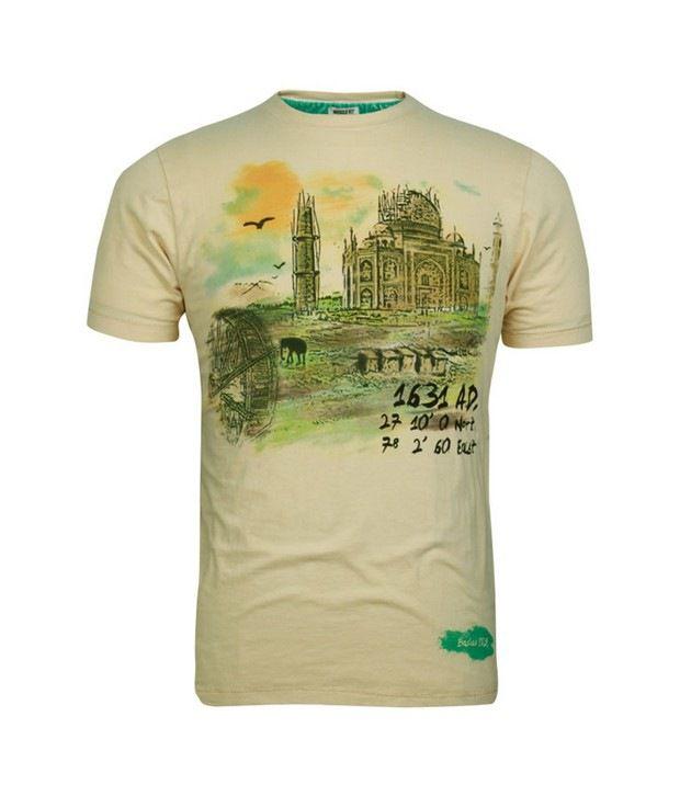 Basics 029 Beige T-Shirts