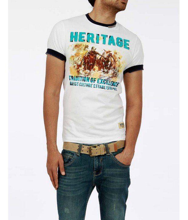 Basics 029 White T-Shirts