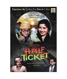 Half Ticket (Colour) Hindi Movie 1962 ( DVD )- Hindi for sale  Delivered anywhere in India
