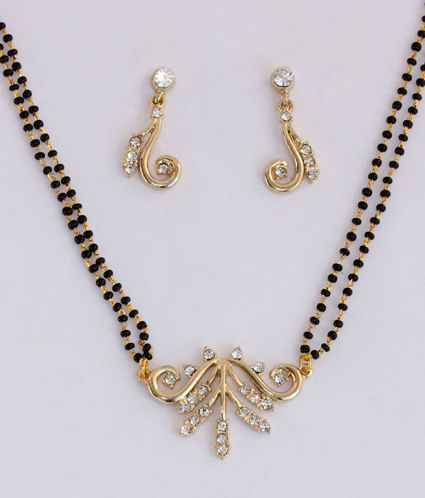 Touchstone Curvaceous AD Studded Mangalsutra Set