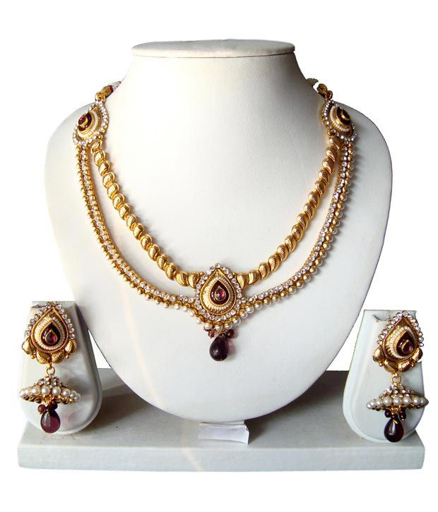 Adoreva Golden Necklace Set 65