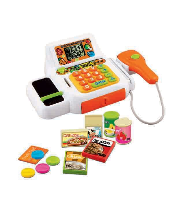 Vtech Shop & Learn Cash Register kids educational playing ...