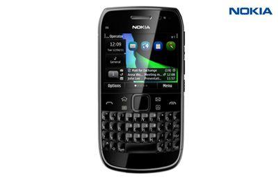 Nokia-E6 (Black)