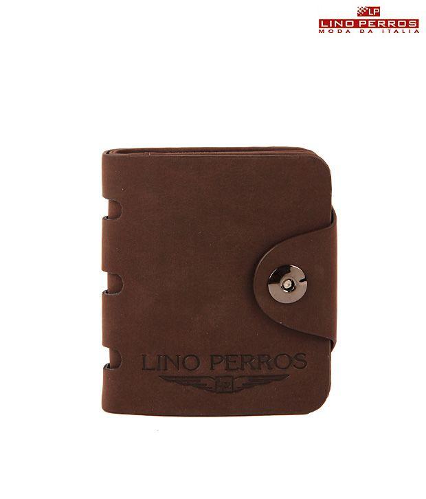 Lino Perros Sleek Brown Wallet