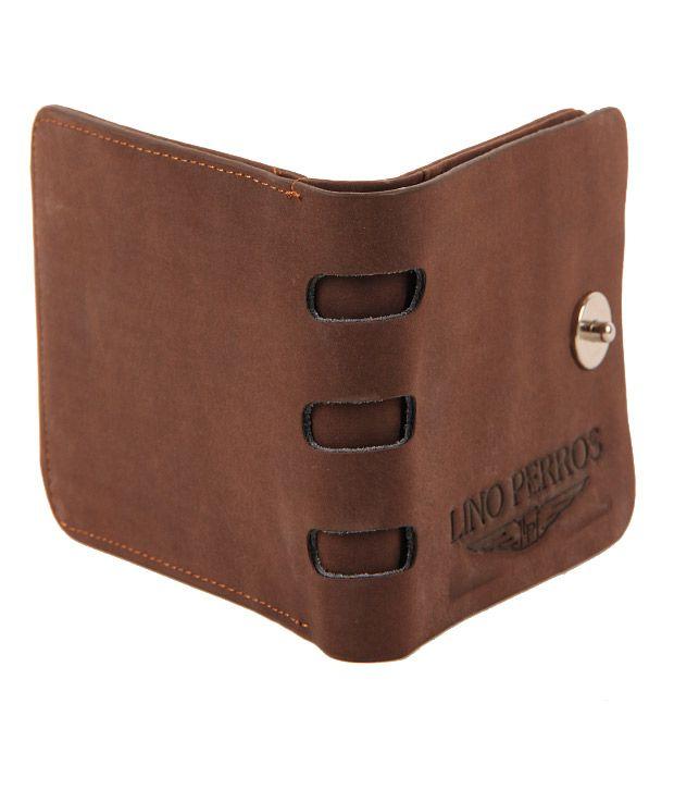 Lino Perros Chocolate Wallet