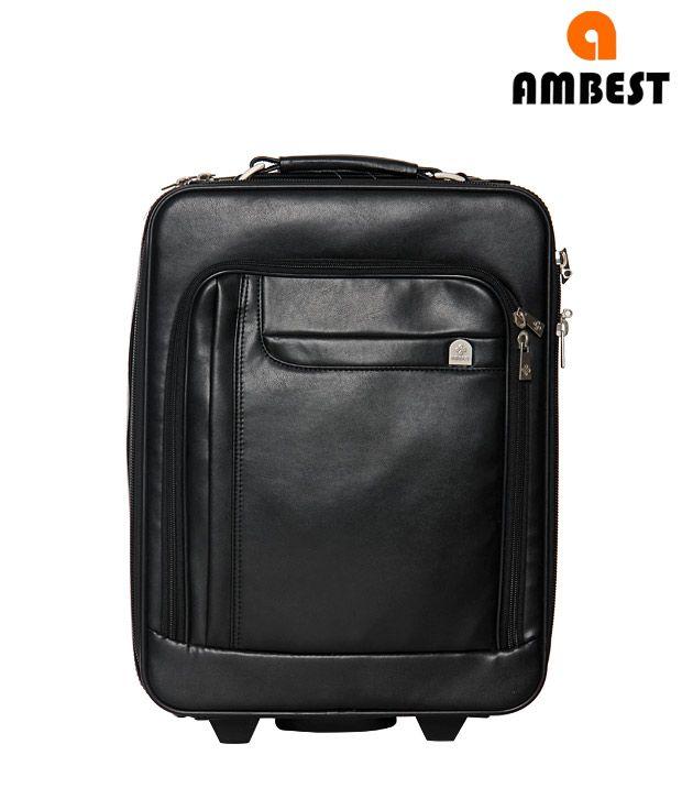 Ambest Overnighter Lap Top Bag(Black)
