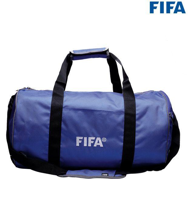 Fifa's Blue Travel Bag