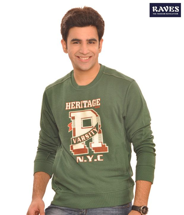 Raves In Green T-Shirt - Heritage-Hgr