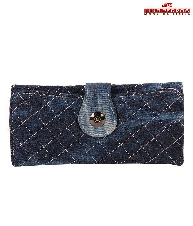 Lino Perros Blue Square Wallet