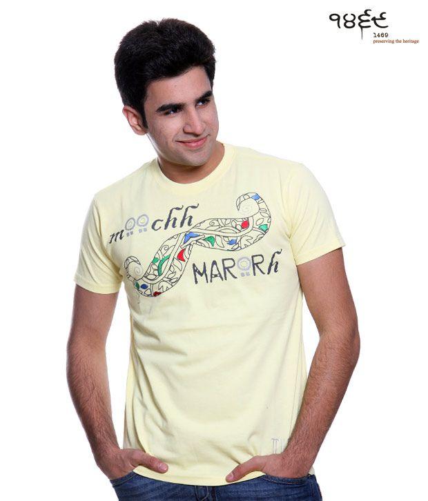 1469 Lemon T-Shirt-Moch Maro-Le