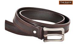 Tie Rack Coffee Brown Belt
