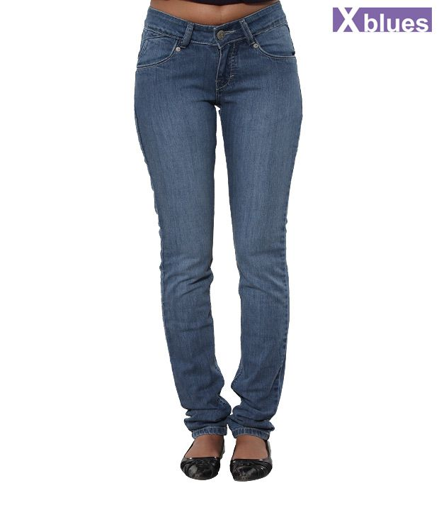 X-Blues Blue Denim Jeans
