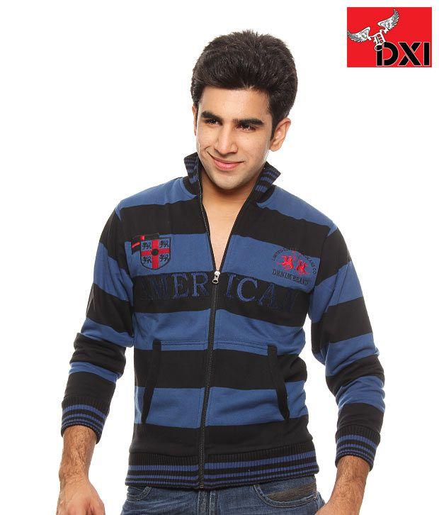 DXI Winter Wear Sweat Shirt For Men- X1112