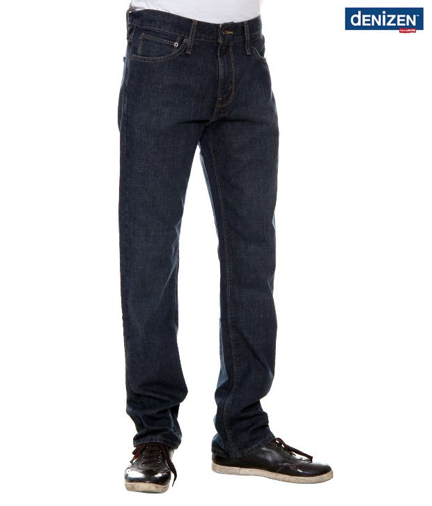 Denizen Regular Fit Deep Blue Jeans (30252-0116)