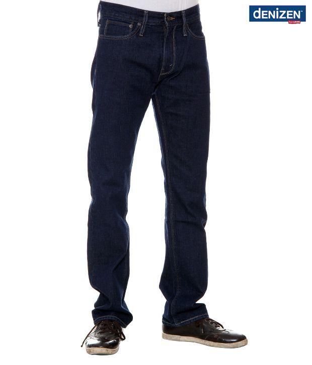 Denizen Regular Fit Dark Blue Jeans (30252-0090)