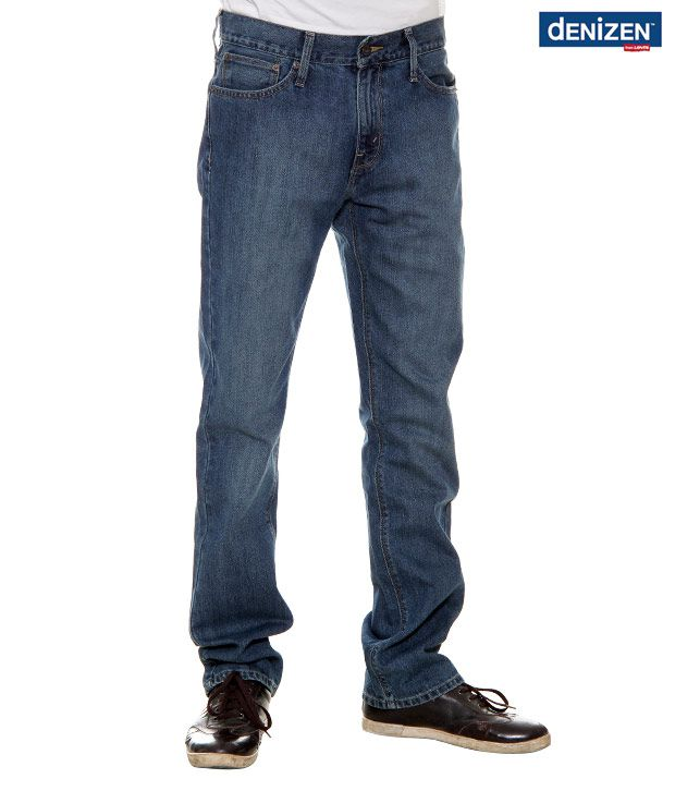 Denizen Regular Fit Classic Blue Jeans (30252-0120)