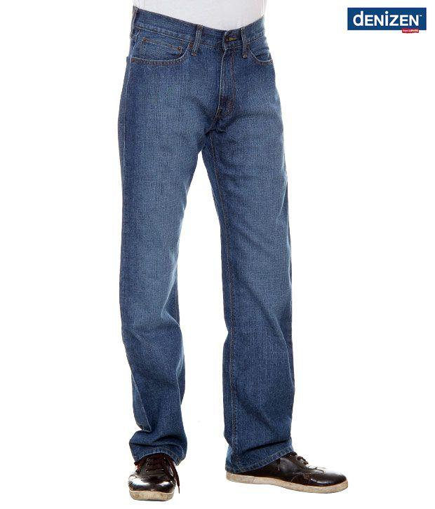 Denizen Regular Fit Blue Jeans (30262-0114)