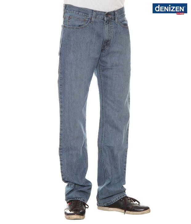Denizen Regular Fit Blue Jeans (30262-0115)