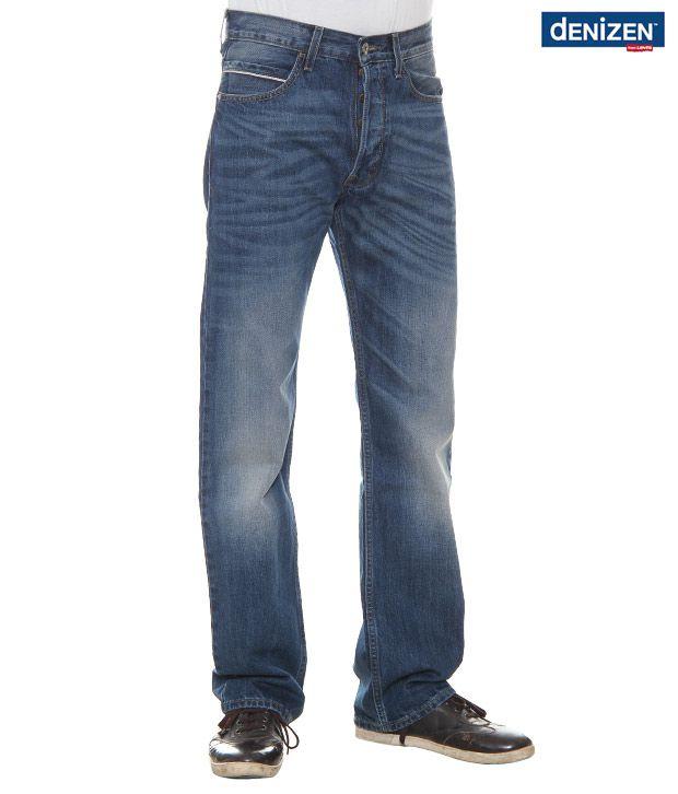 Denizen Regular Shaded Blue Jeans (33575-0002)