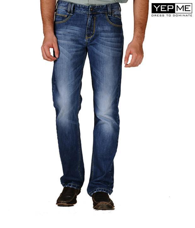 Yepme Texan Light Wash Jeans YPMJEAN0010