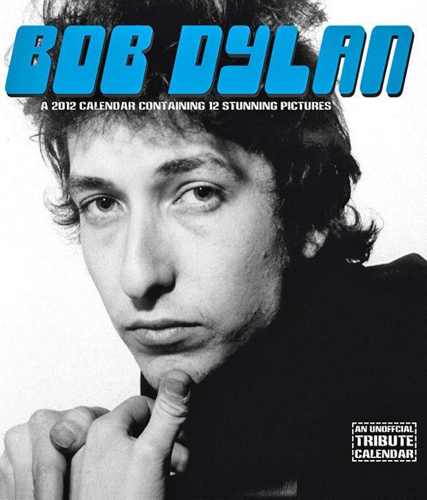Bob Dylan  Music 2012 Calendar