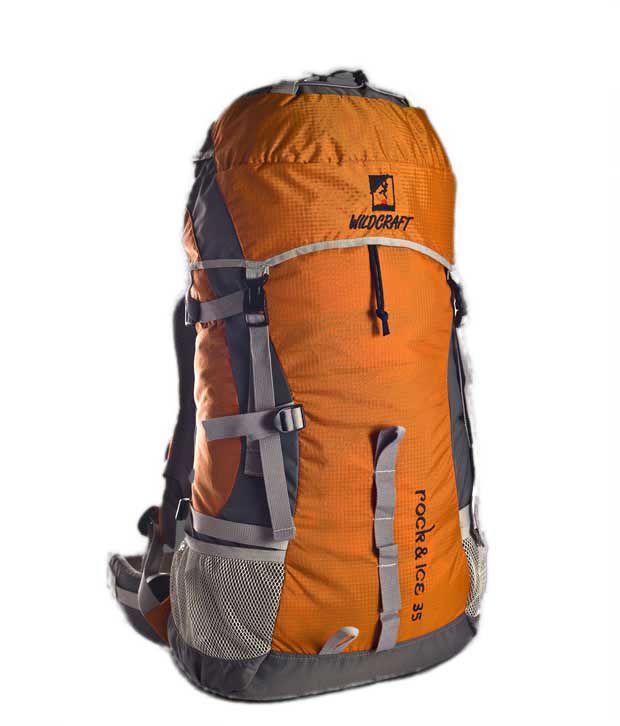 Wildcraft Rock & Ice Orange Rucksack
