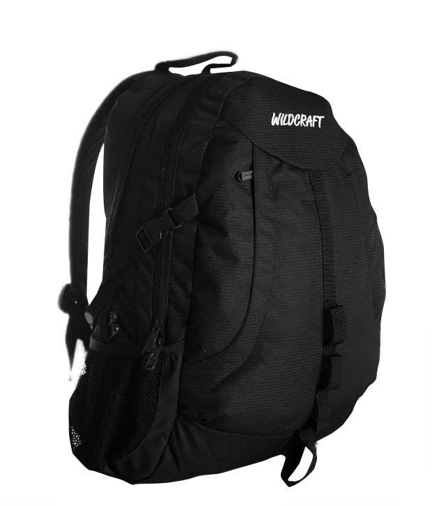 Wildcraft Jinx Black Backpack