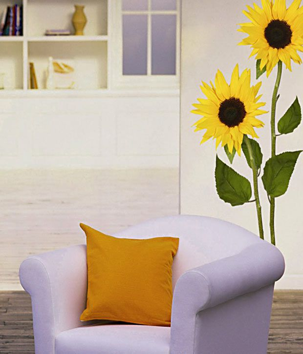Plage Sunflower Wall Sticker