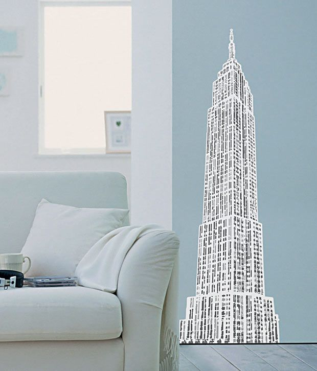 Plage Beautiful Building Wall Sticker