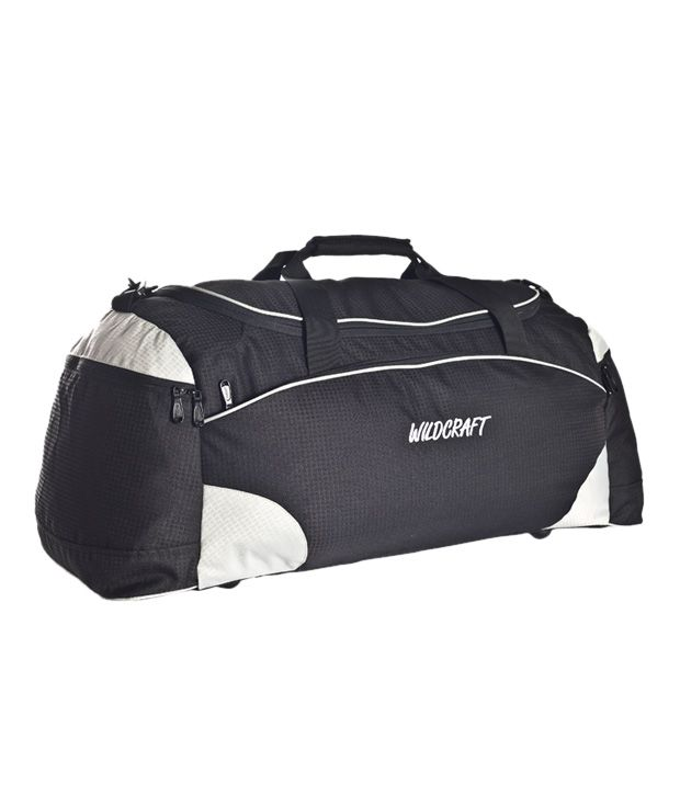 Wildcraft Large Black White Air Bag