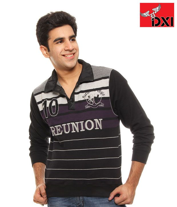 DXI Winter Wear Sweat Shirt For Men-X1127