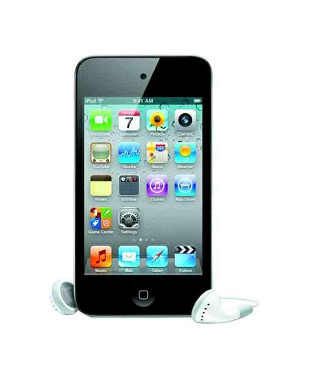 Apple Ipod Touch 4Th Generation 8 Gb Black