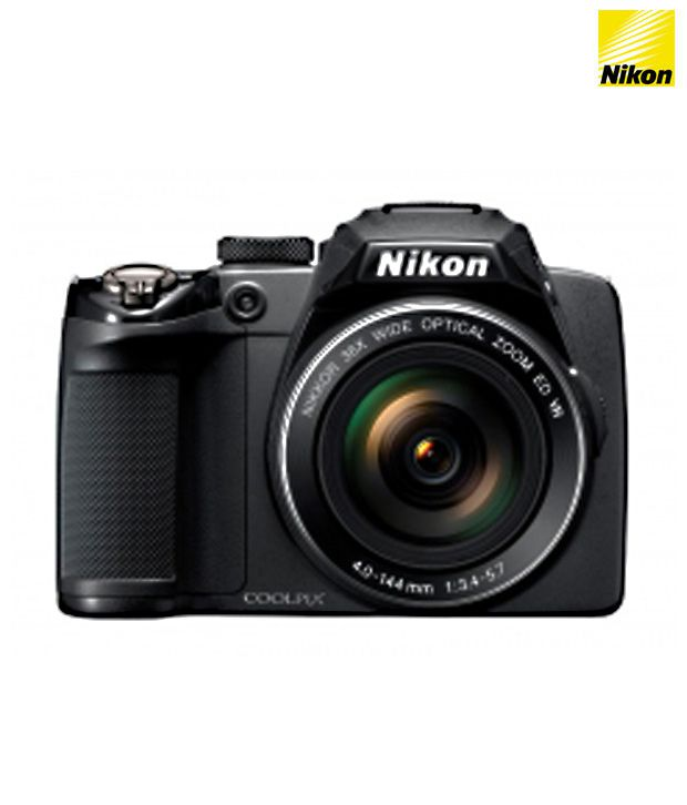 Nikon Coolpix P500 12.1MP Semi-SLR Camera (Black)