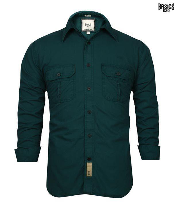 BASICS 029 Shirt 10BSH23504-TQ-HS
