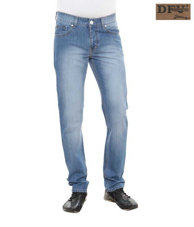 DFU Ice Blue Jeans-Ds-8907